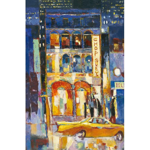 Big Yellow Taxi - Anthony Marshall Image