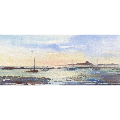 Boats at Dunstanburgh - Roy Francis Kirton Image
