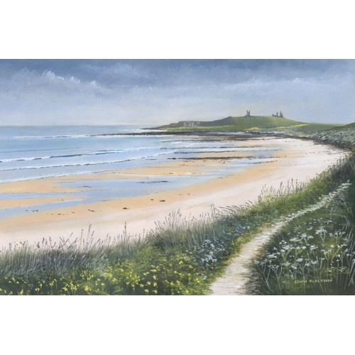 Coastal Path, Dunstanburgh - Edwin Blackburn Image