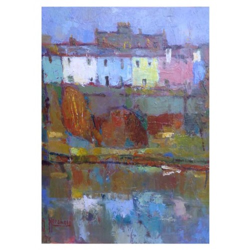 Coloured Houses, Alnmouth - Anthony Marshall Image