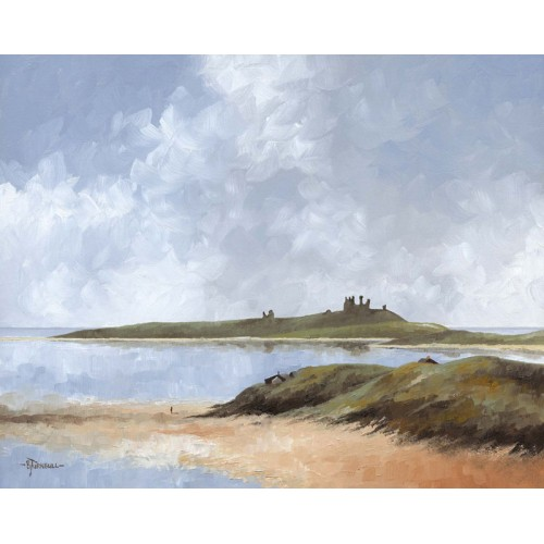 Dunstanburgh from Newton Dunes - Bob Turnbull Image