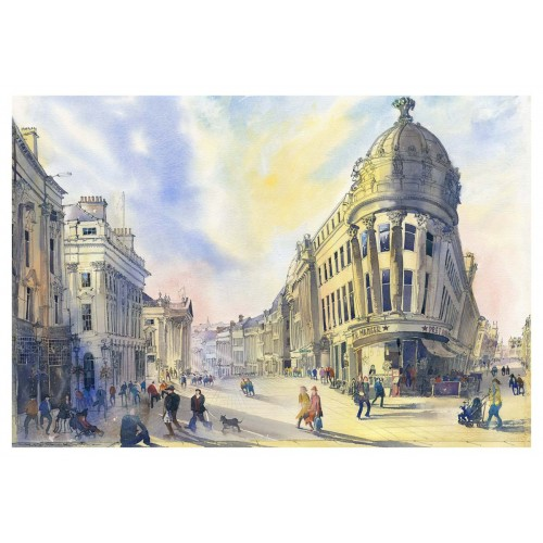 Early morning Grey Street - Roy Francis Kirton Image