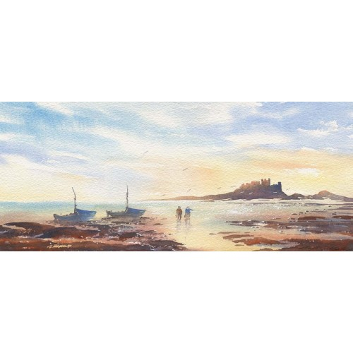 Early morning catch at Bamburgh - Roy Francis Kirton Image