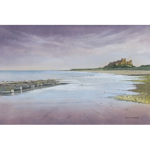 Evening Sky Bamburgh - Edwin Bambugh Image