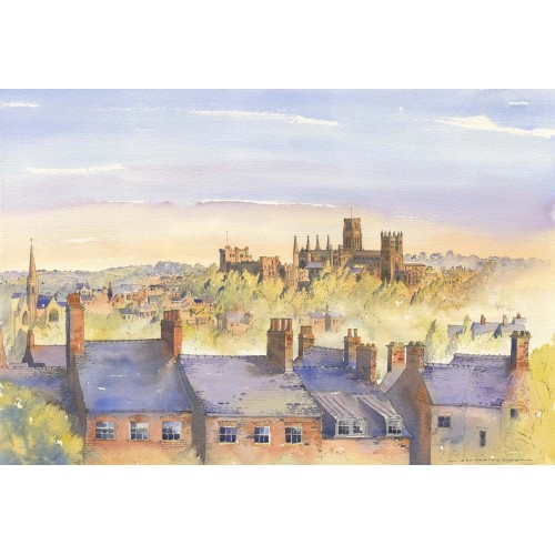 Evening light over Durham - Roy Francis Kirton Image