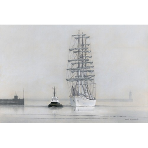 Fog on the Tyne - Edwin Blackburn Image