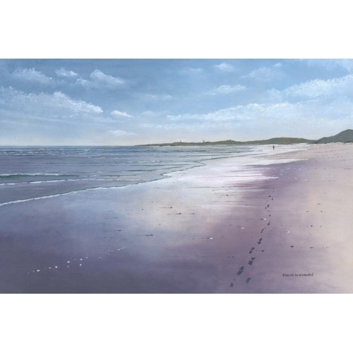 Footsteps, Druridge Bay - Edwin Blackburn Image