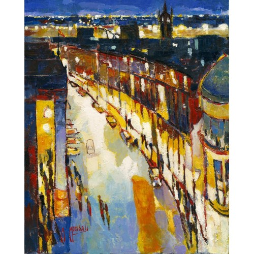 Grey Street Evening - Anthony Marshall Image