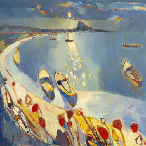 Holy Island Dawn - Anthony Marshall Image