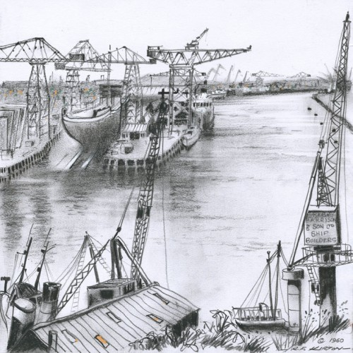 Life on the Tyne - Roy Francis Kirton Image