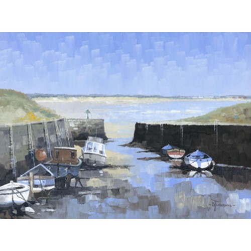 Low Tide Seaton Sluice - Bob Turnbull Image