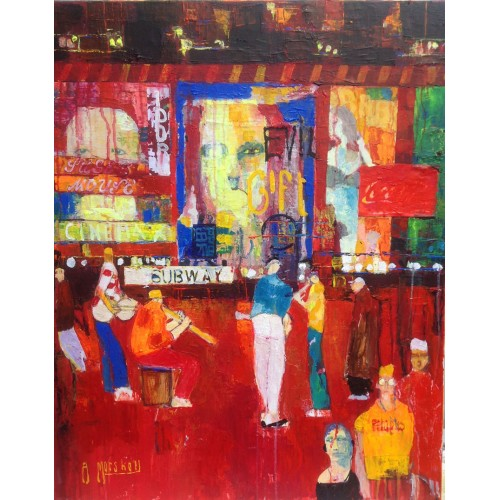 Manhatten Quartet - Anthony Marshall Image