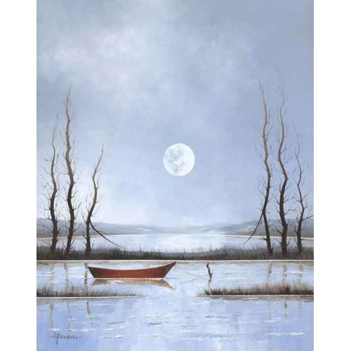 Moonlight Marsh - Bob Turnbull Image
