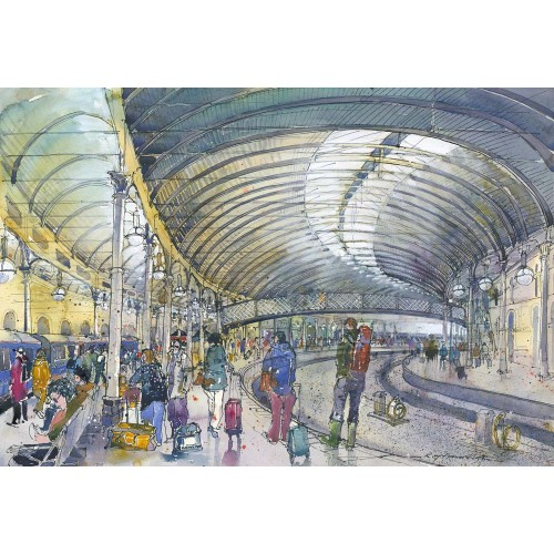 Newcastle Central Station - Roy Francis Kirton Image