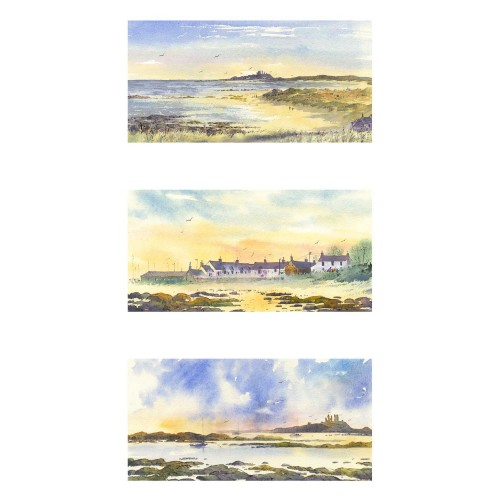 Newton-by-the-Sea Triptych - Roy Francis Kirton Image