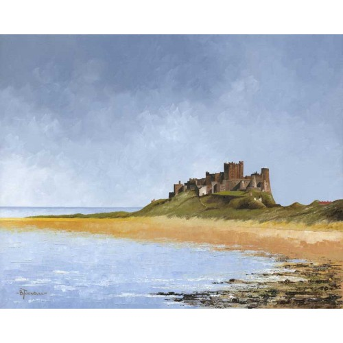 North View, Bamburgh Castle - Bob Turnbull Image