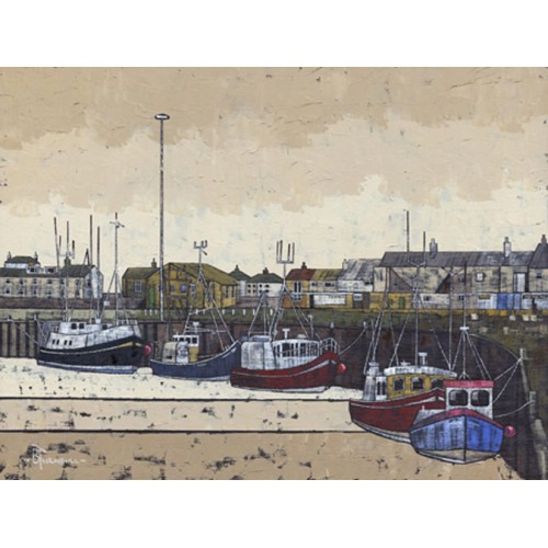 Northumberland Harbour 2 Amble - Bob Turnbull Image