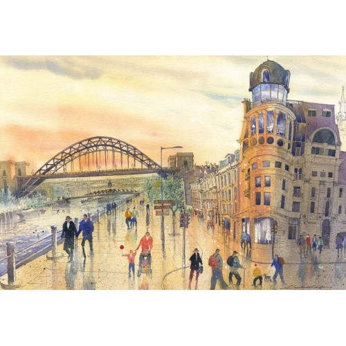 Quayside Afternoon - Roy Francis Kirton Image