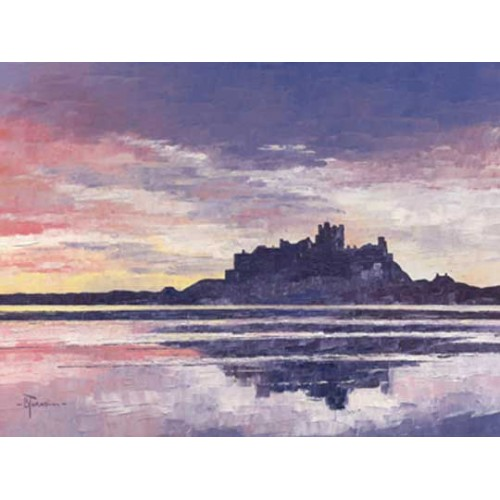 Red Sky over Bamburgh - Bob Turnbull Image