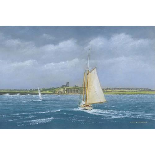 Sailing of Tynemouth - Edwin Blackburn Image