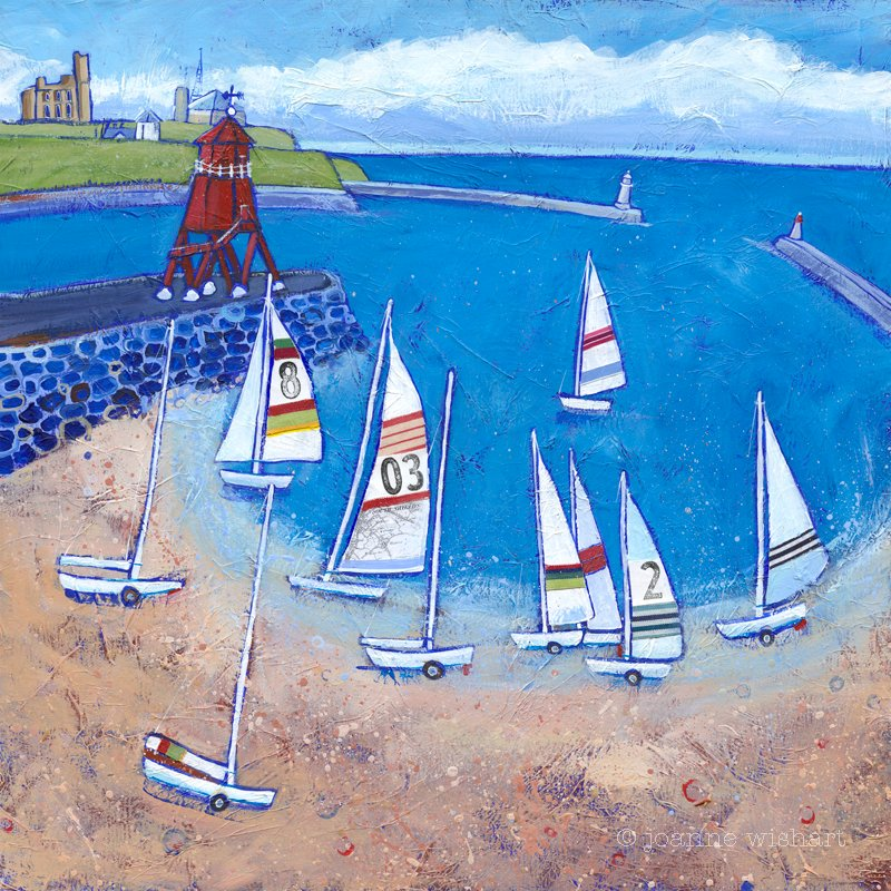 Sailing form South Shields - Joanne Wishart Image