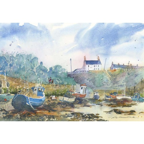 Seaton Sluice Harbour - Roy Francis Kirton Image