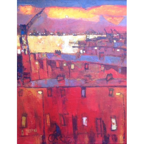 Shipyard Dawn - Anthony Marshall Image