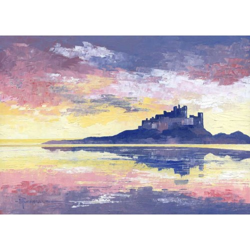 Sunset Bamburgh - Bob Turnbull Image