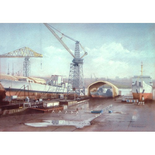Swan Hunter Shipyard - Edwin Blackburn Image