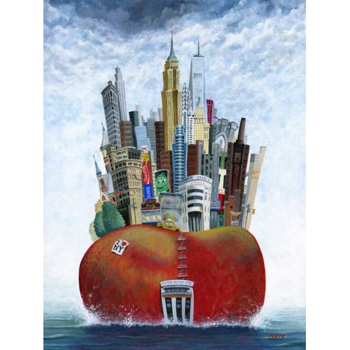 The Big Apple, Ferry - Peter Davidson Image