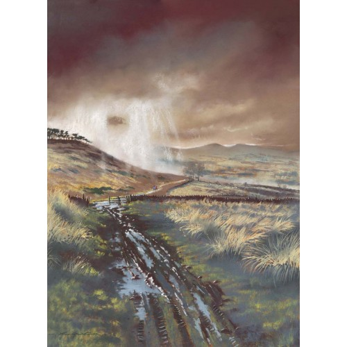 The Cheviot Hills - Roy Francis Kirton Image