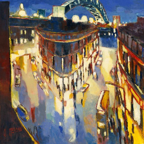 Tyneside Lights - Anthony Marshall Image