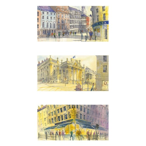 Views of Newcastle Triptych - Roy Francis Kirton Image