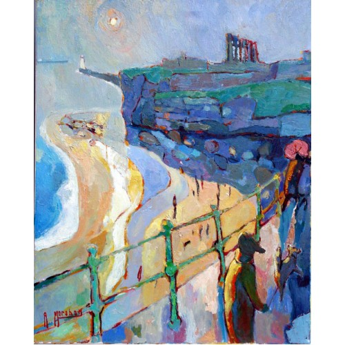 Tynemouth Priory Spring Showers - Anthony Marshall Image